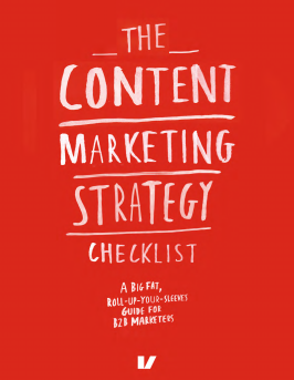 content marketing strategy checklist